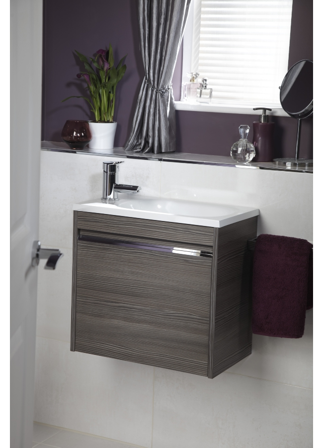 Additional Image Of Utopia Halo Modular Cloakroom Unit With Mineralcast  Washbasin