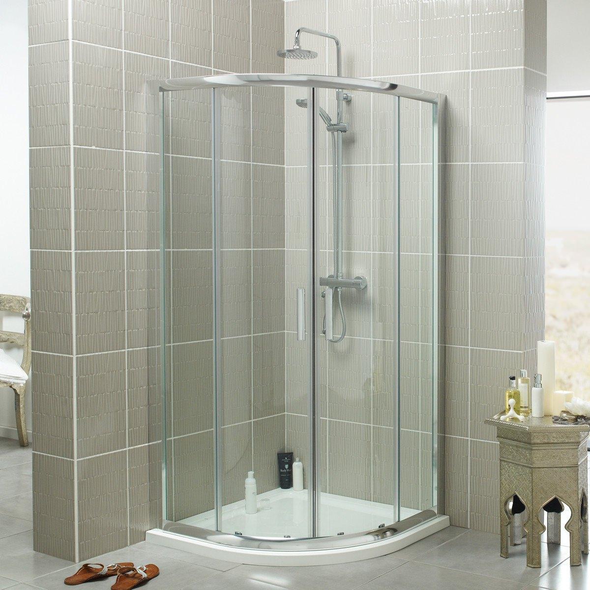Kartell Koncept 800mm Quadrant Shower Enclosure