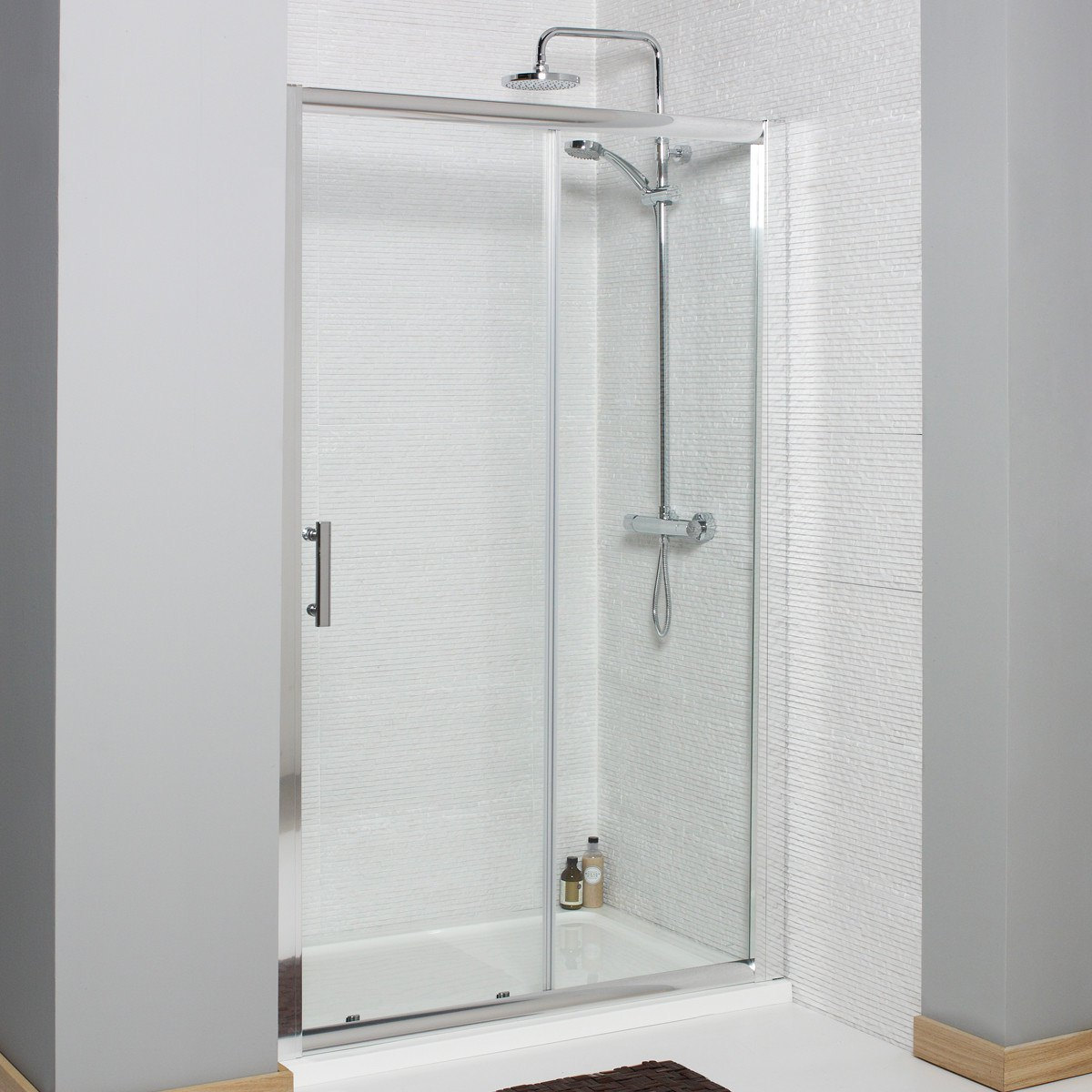 Kartell koncept 1200mm sliding shower door for 1200mm shower door sliding