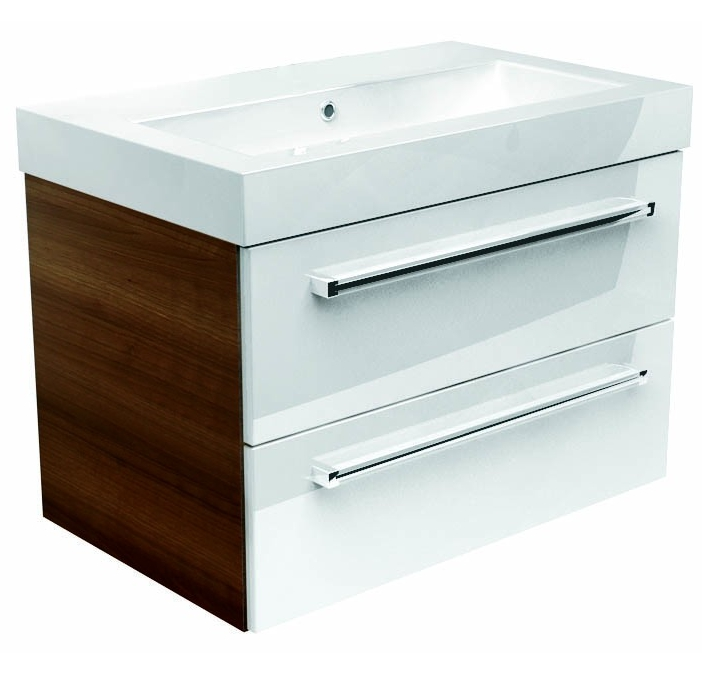 Utopia You Modular 600mm Double Drawer Unit With Ceramic Basin