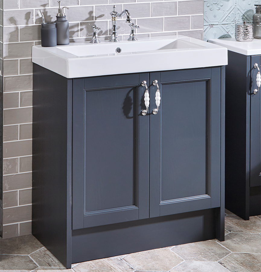 Roseberry Modular 600mm Freestanding Vanity Unit With