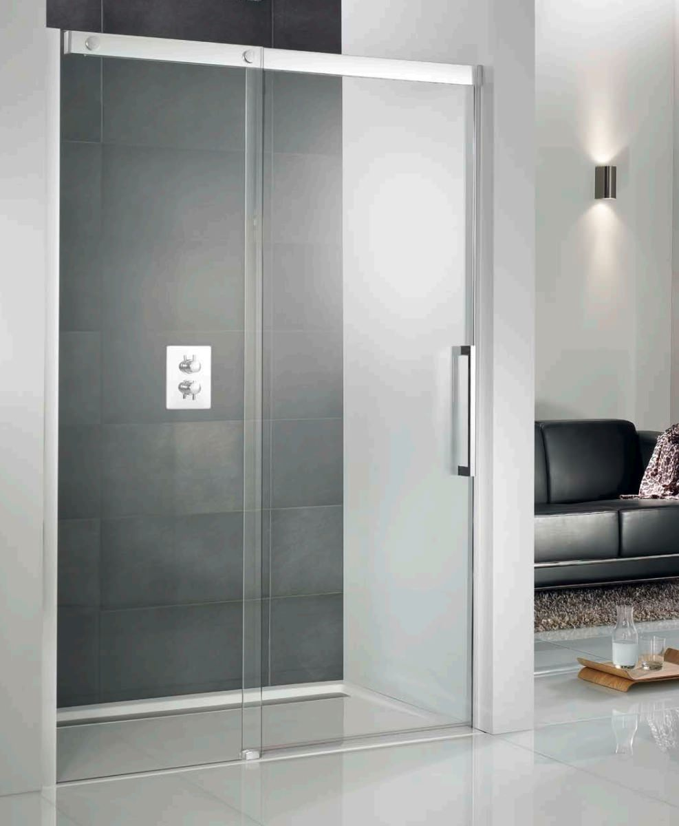 Hsk K2p Recess Single Slider Shower Door 1200mm