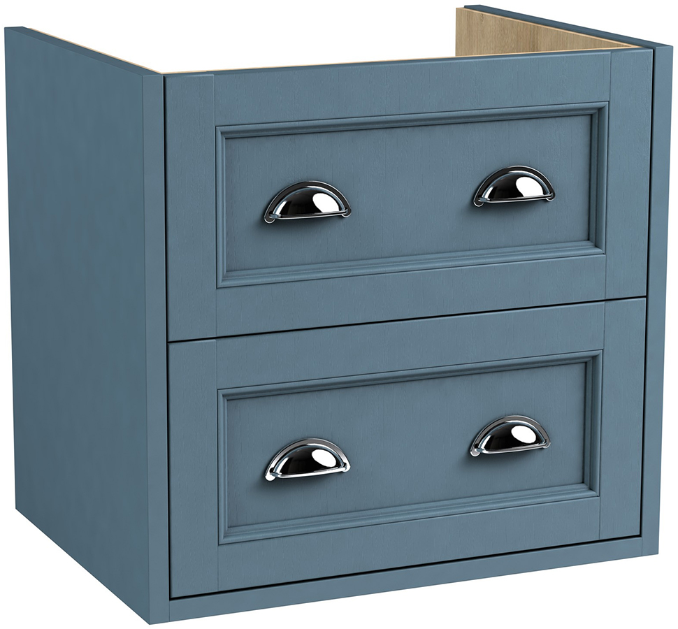 Roseberry Modular 590mm Wall Hung Double Drawer Unit