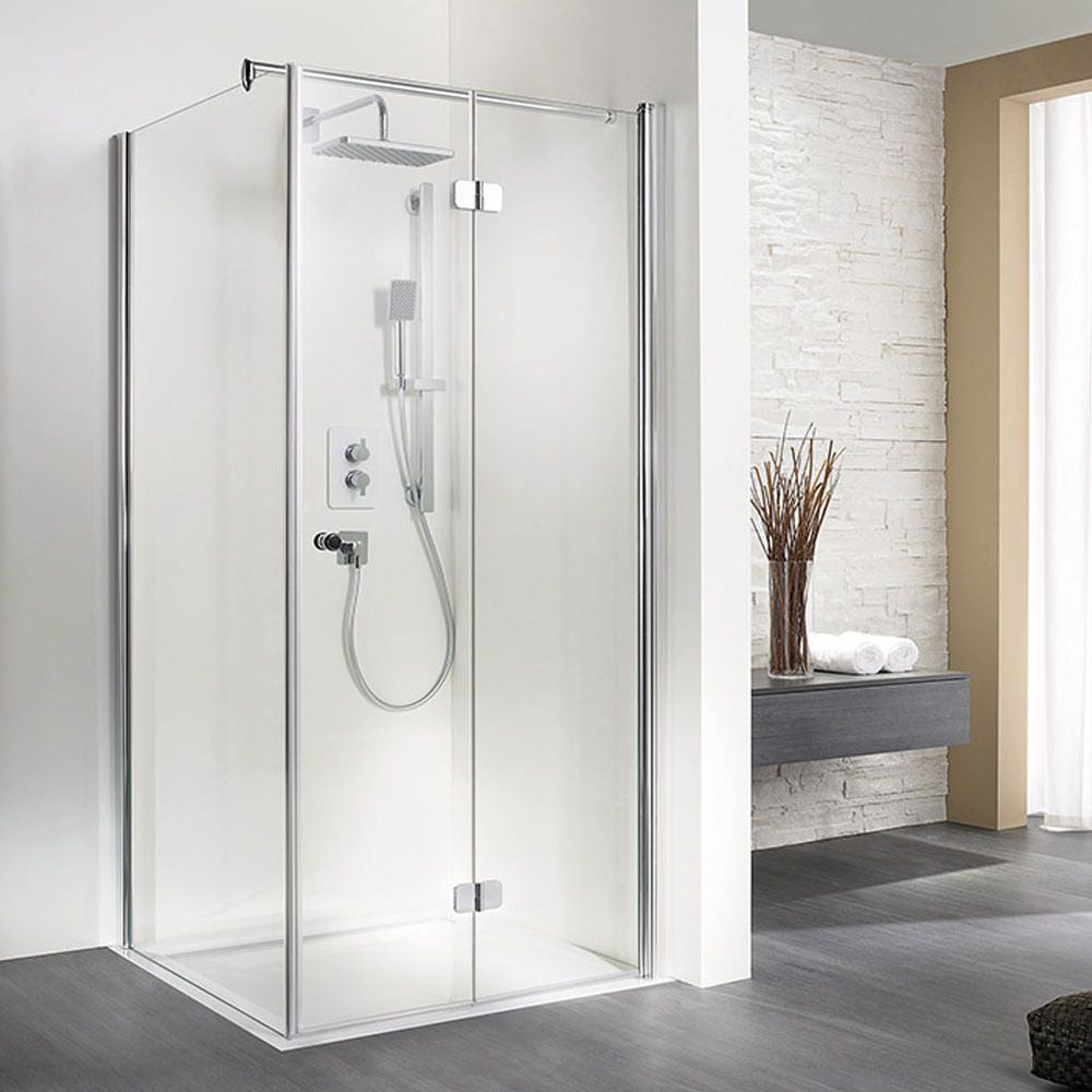 Hsk Exklusiv Pivoting Bi Fold Shower Door 760 X 2000mm