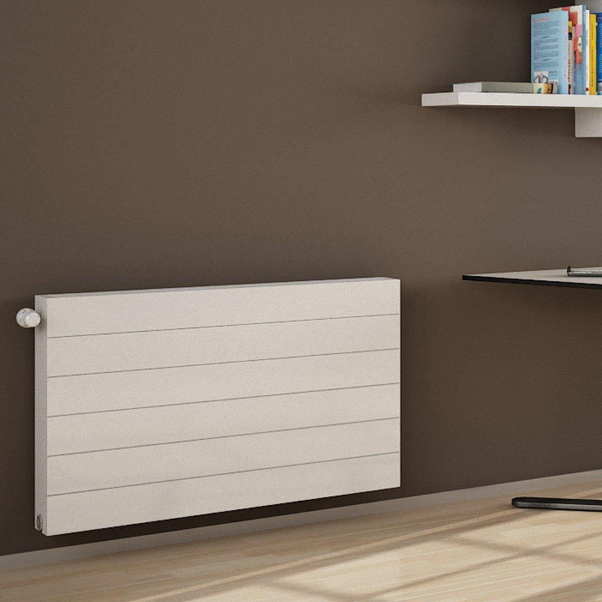 Bath Shower Thermostatic Mixer Taps Kartell K Flat Premium Kompact Horizontal Double Convector