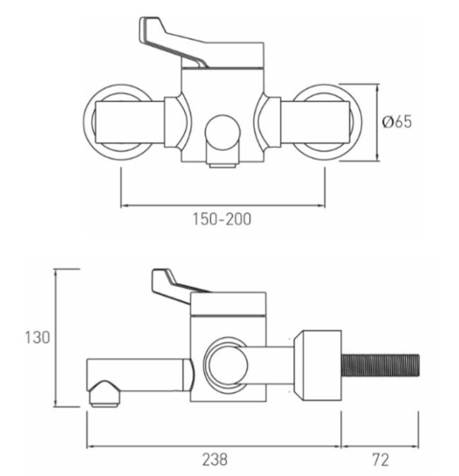Technical drawing B3-21406 / H64WMT2