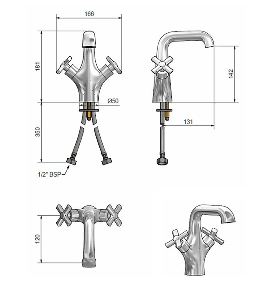 Technical drawing B3-21010 / SAV TAP BAS