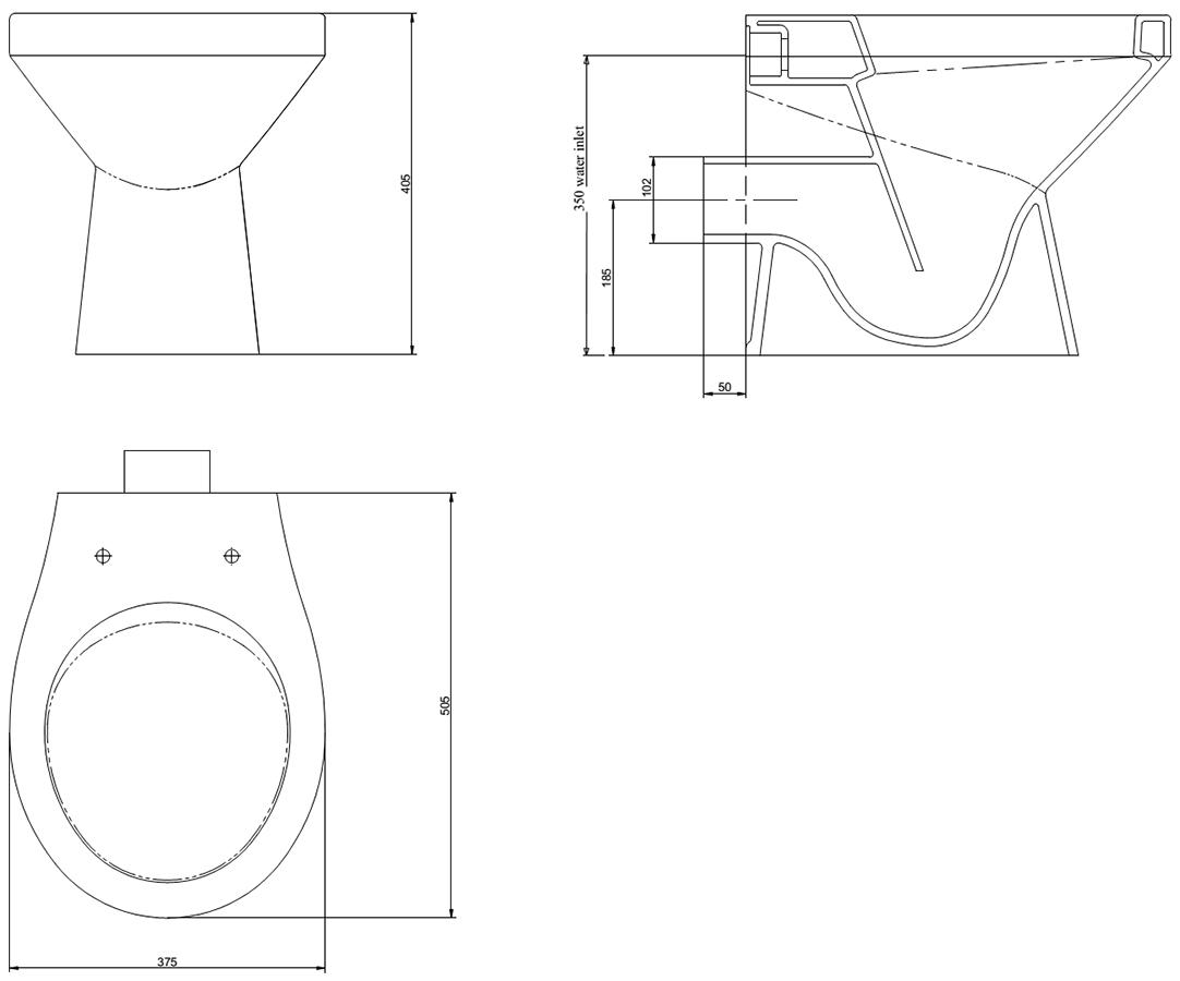 Technical drawing B3-15556 / MABTWPANDXW