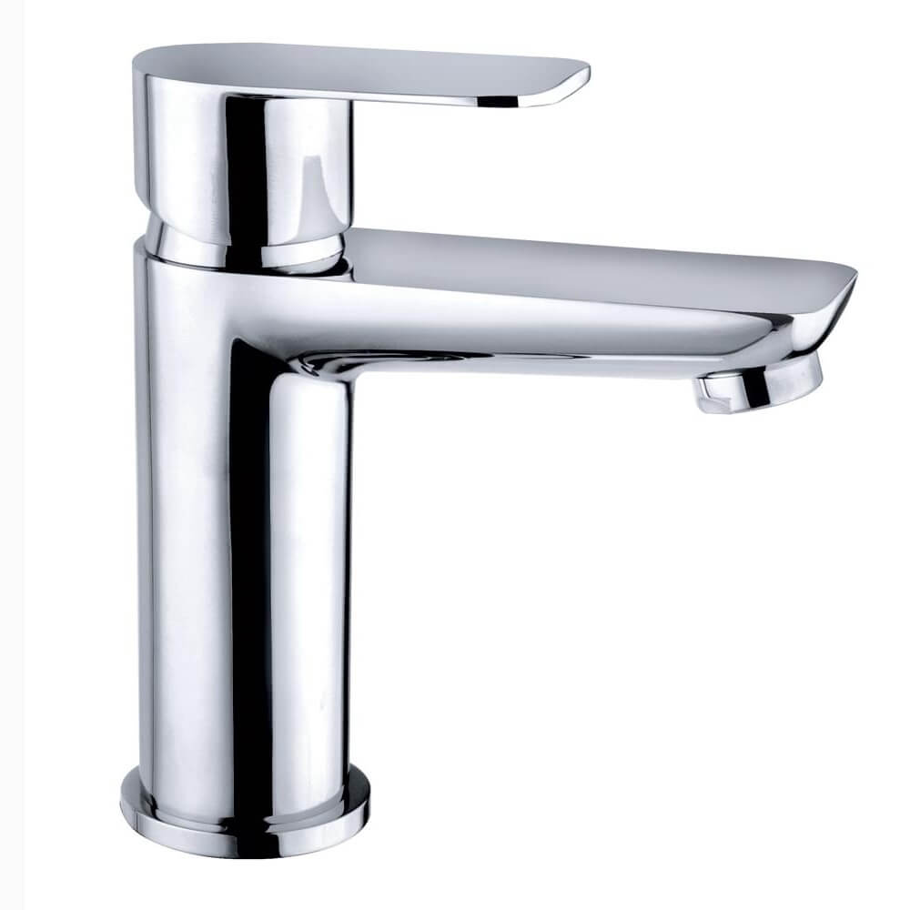 QX Charlotte Monobloc Basin Mixer Tap With Click Clack Waste