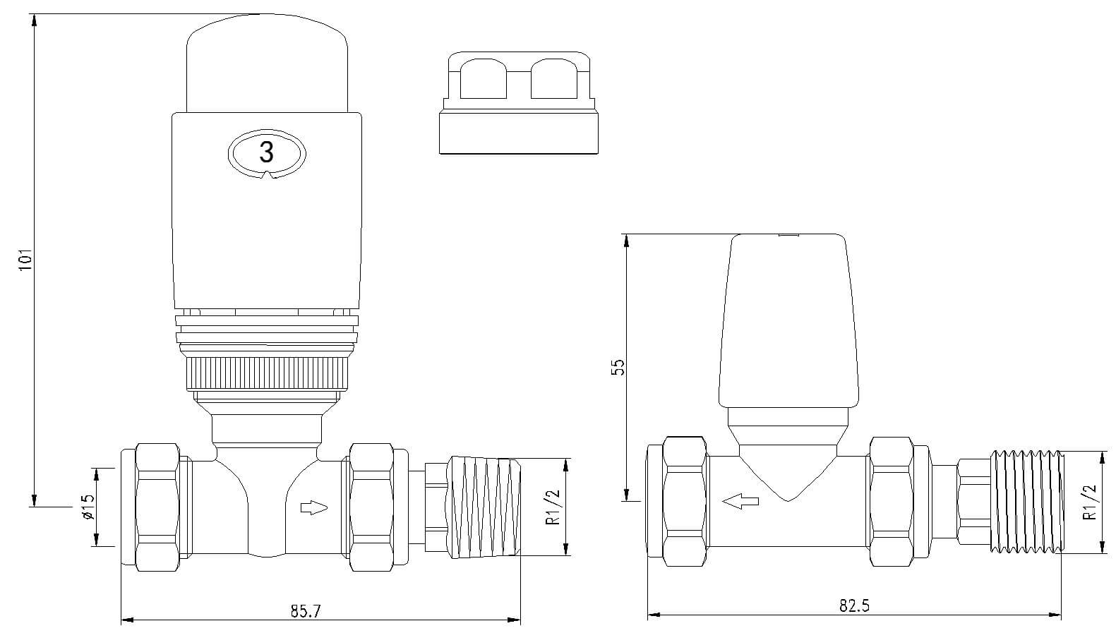 Technical drawing B3-25088 / LMSTTHERM