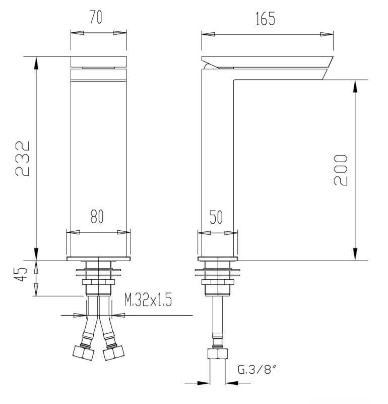 Technical drawing B3-28011 / FMART8515
