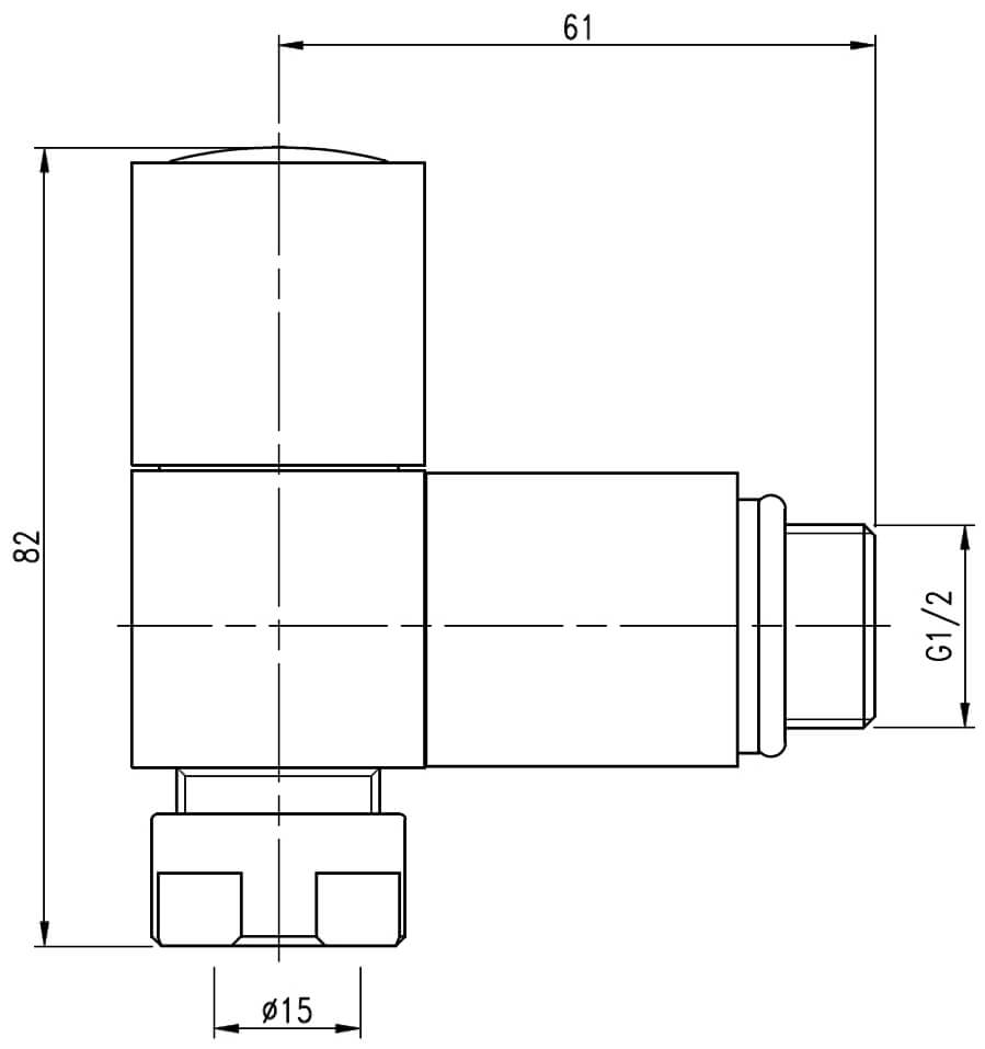 Technical drawing B3-25091 / LMRADSQANG