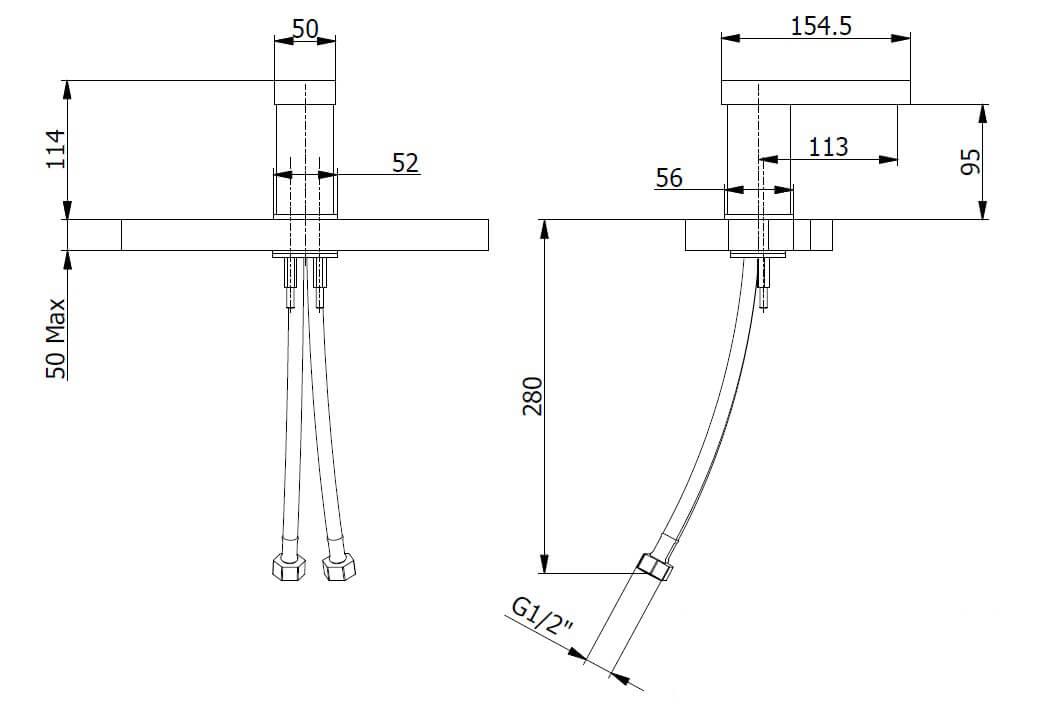 Technical drawing B3-28012 / FMART7710