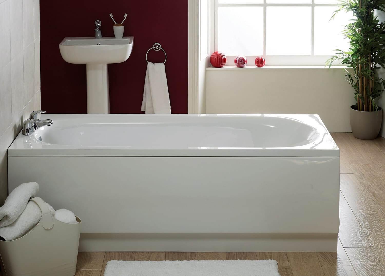 Frontline Super Strength 1700mm Acrylic Front Bath Panel