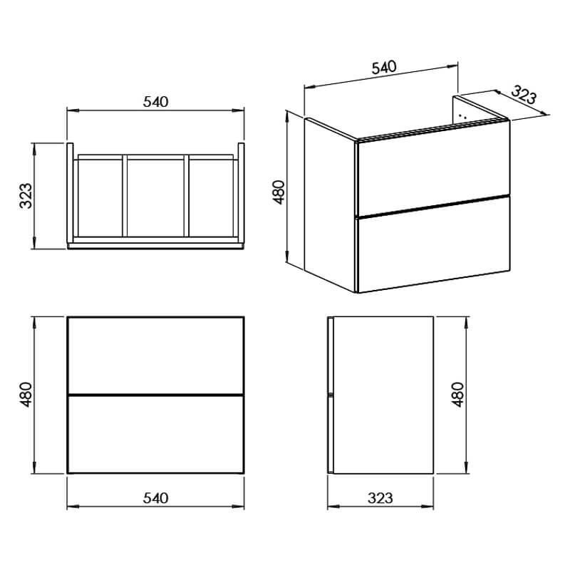 Technical drawing B3-29000 / CV29294/000