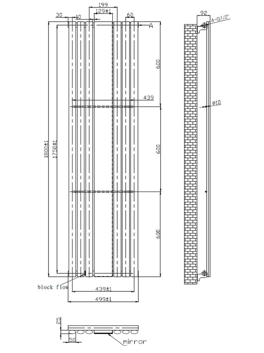 Technical drawing B3-17515 / LMNRSUNMR1-518A