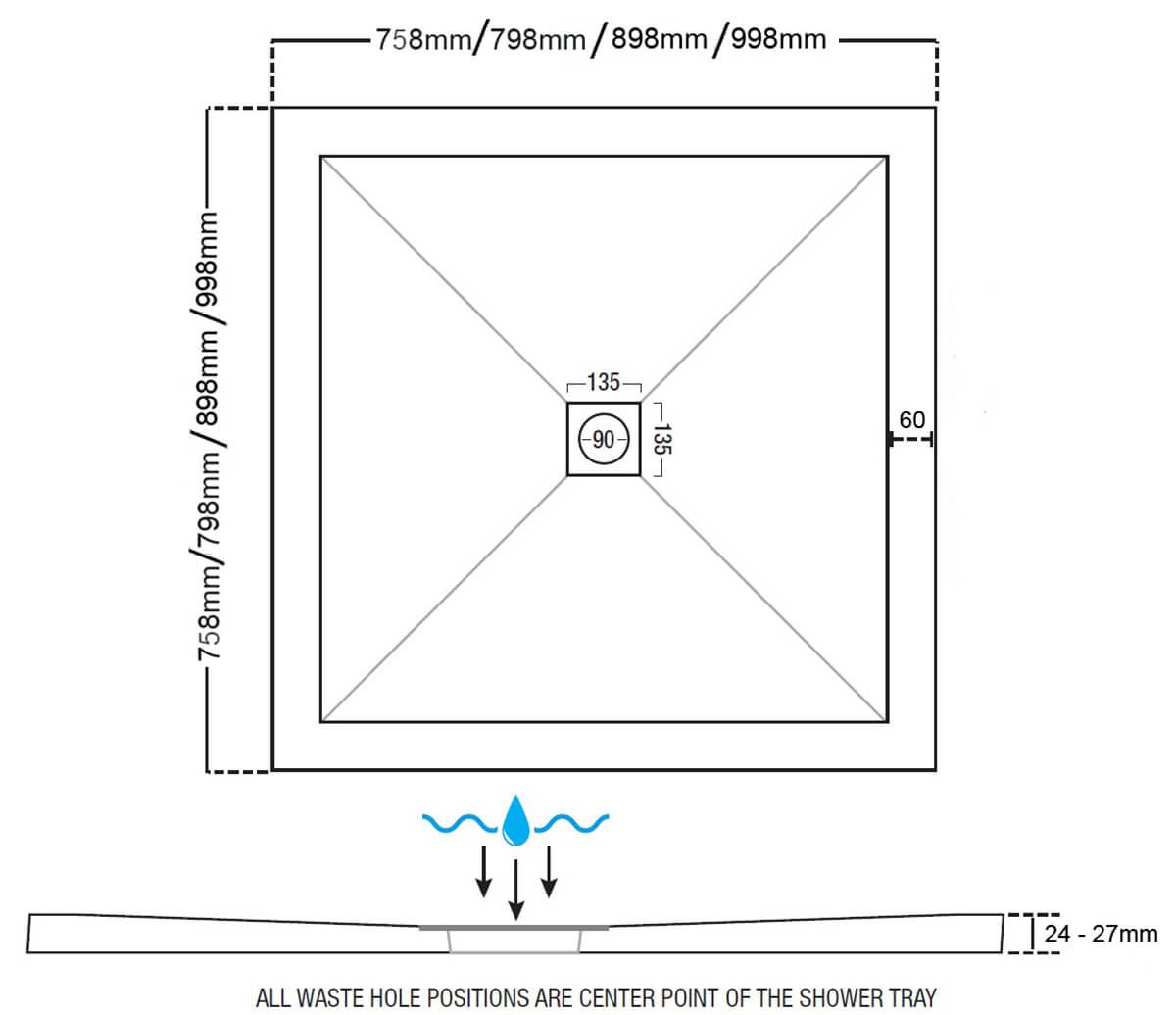 Technical drawing B3-25501 / ST25760SQ