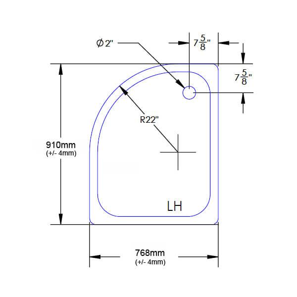 Technical drawing B3-20497 / JTUFR976LQ