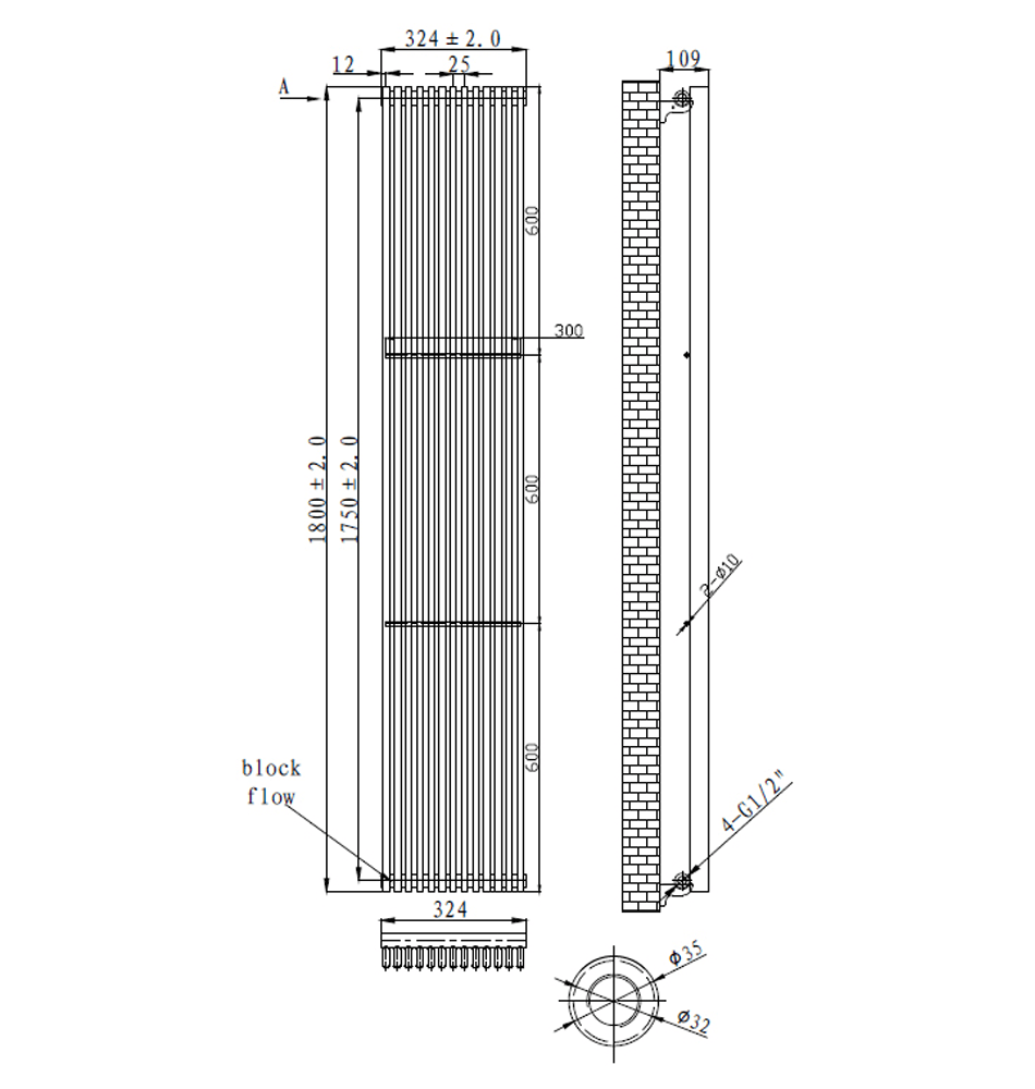 Technical drawing B3-17512 / LMNRSUN-R4-318W