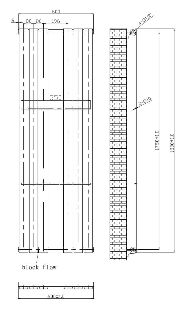 Technical drawing B3-17516 / LMNRSUN-R14-418W