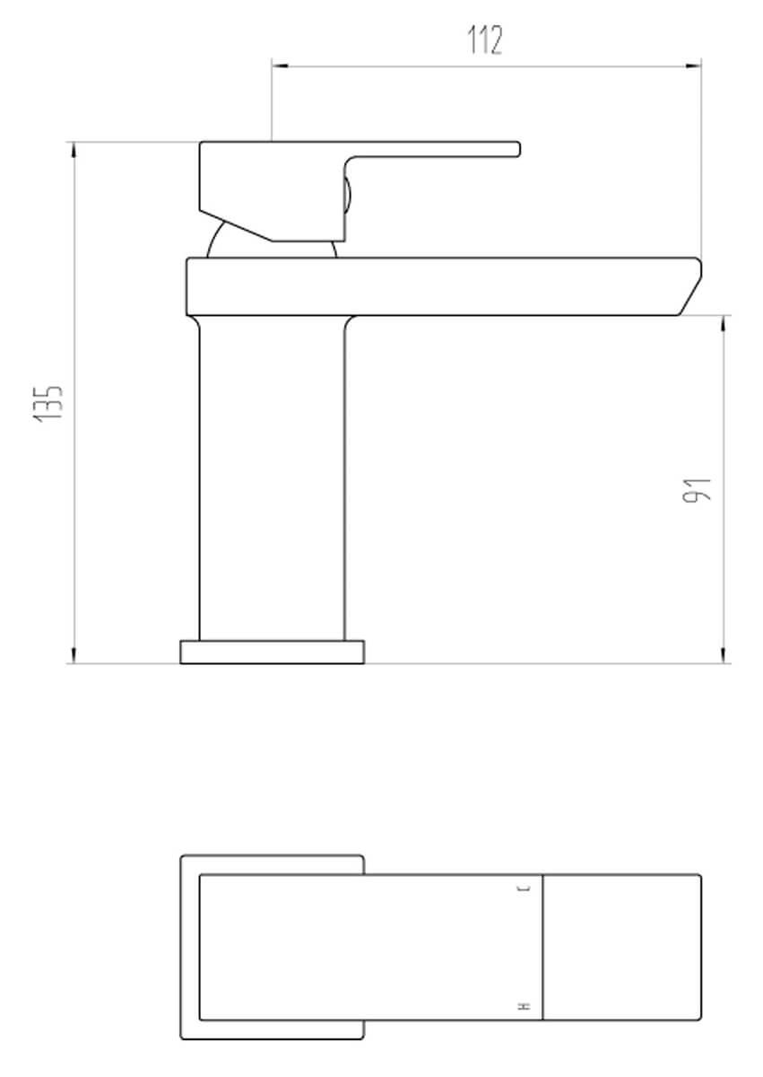 Technical drawing B3-28063 / BIQSK10