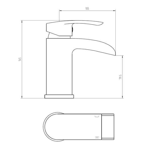 Technical drawing B3-28078 / BIQFL03