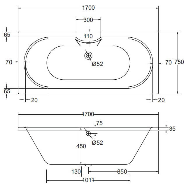 Technical drawing B3-30521 / ABLUNA6
