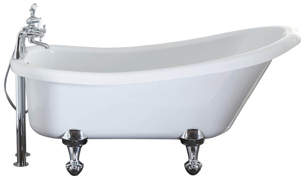 Frontline Camden 1500 x 750mm Freestanding Slipper Bath