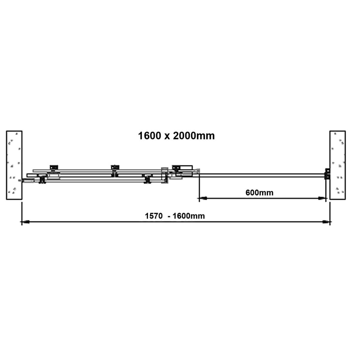 Technical drawing B3-24007 / BENDY-D9153-12