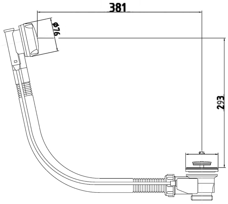 Technical drawing B3-25102 / UFEA333