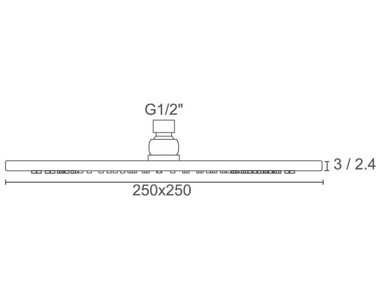 Technical drawing B3-28521 / BIQSB75