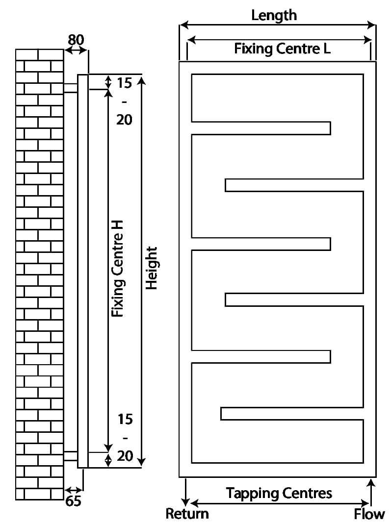 Technical drawing B3-27525 / RXAZ-0915500-ss