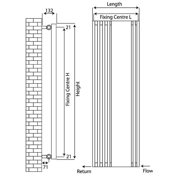 Technical drawing B3-24070 / RXIM-1500535-ow