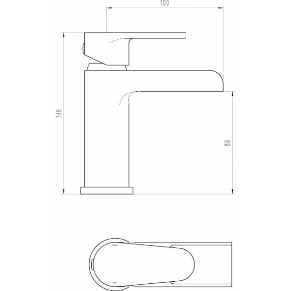 Technical drawing B3-28066 / BIQBAL03