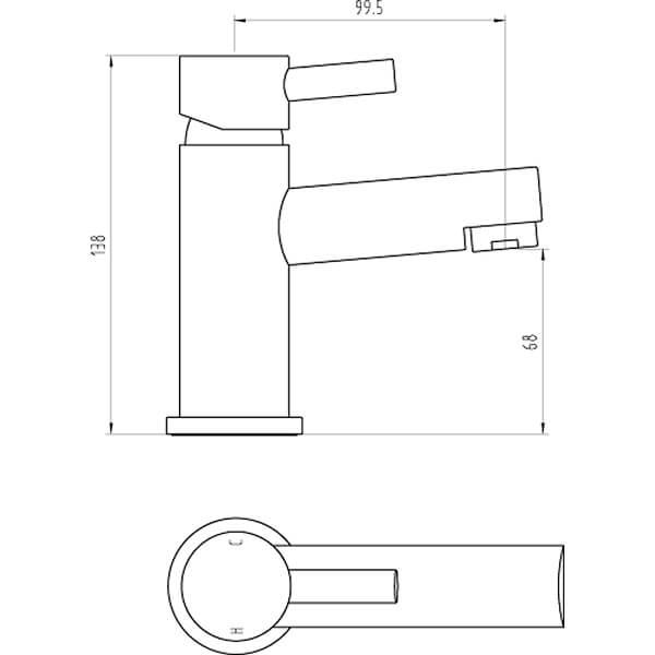Technical drawing B3-28067 / BIQPE03