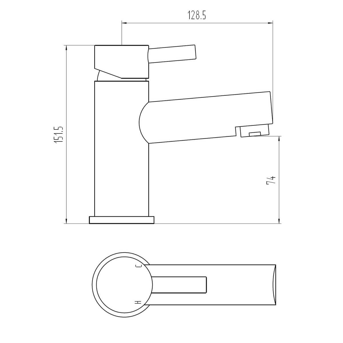 Technical drawing B3-28068 / BIQPE30