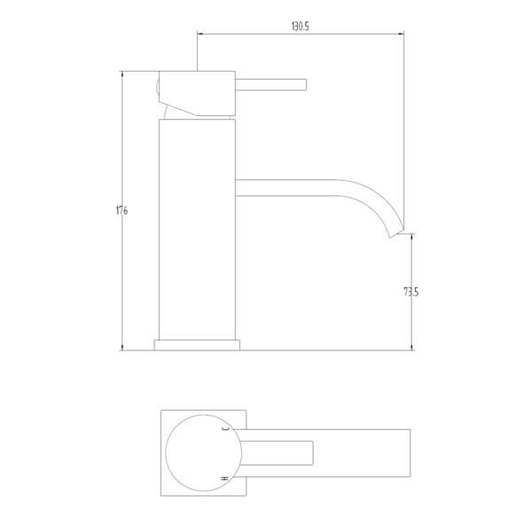 Technical drawing B3-28065 / BIQGE03