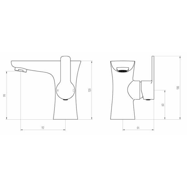 Technical drawing B3-28075 / BIQGAR03