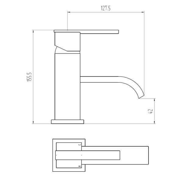 Technical drawing B3-28072 / BIQBL02