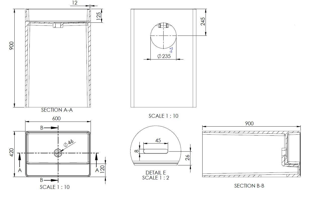 Technical drawing B3-19624 / SI855833