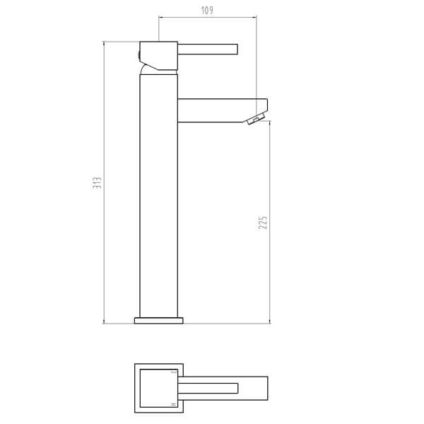 Technical drawing B3-28060 / BIQIX08