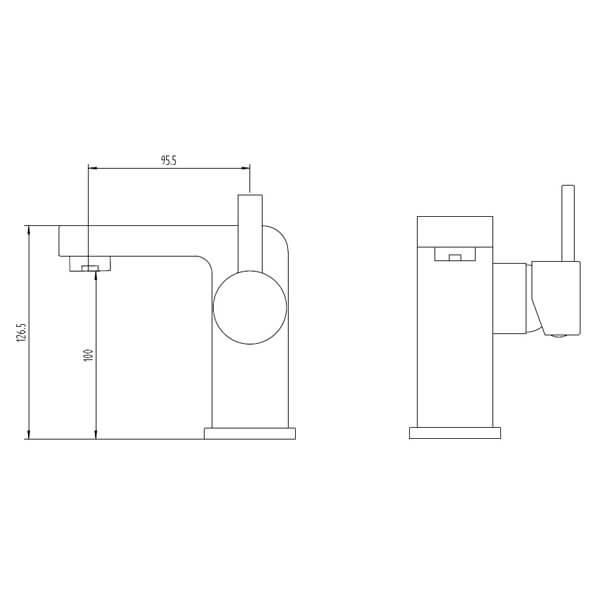 Technical drawing B3-28061 / BIQPA03