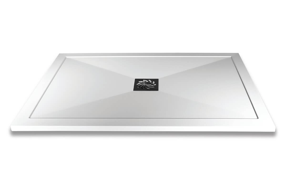 Frontline Aquaglass 25mm Slimline Rectangular 1100mm Shower Tray