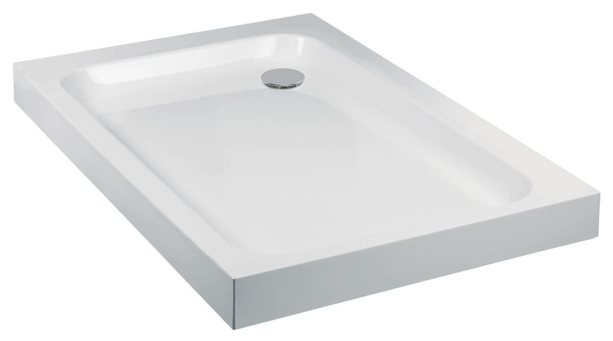 Frontline Aquaglass 80mm Standard 1400mm Rectangular Shower Tray