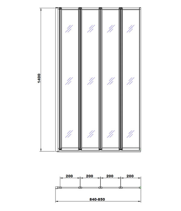 Technical drawing B3-12993 / BE611633