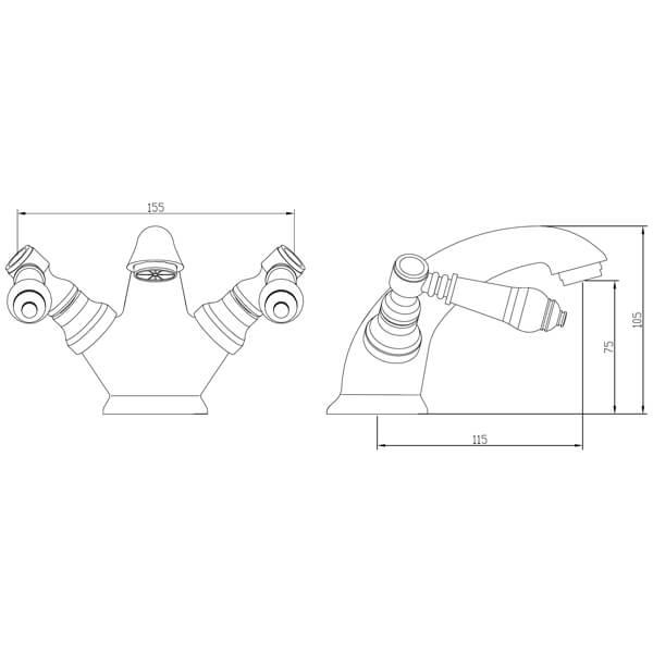 Technical drawing B3-28095 / BIQHL03