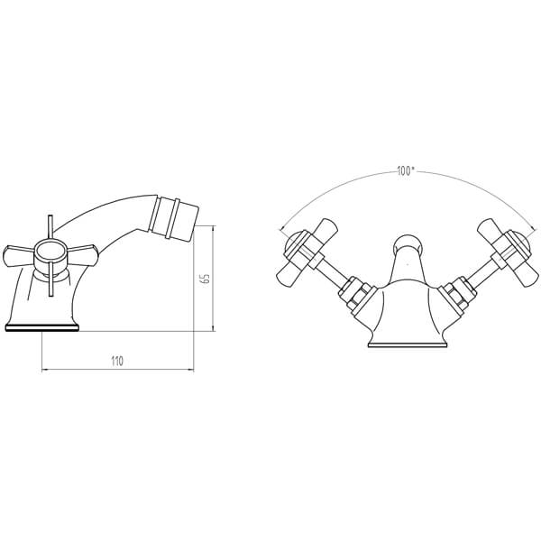 Technical drawing B3-28099 / BIQVI03