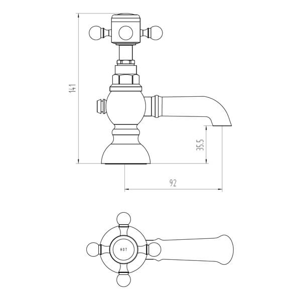 Technical drawing B3-28098 / BIQED04