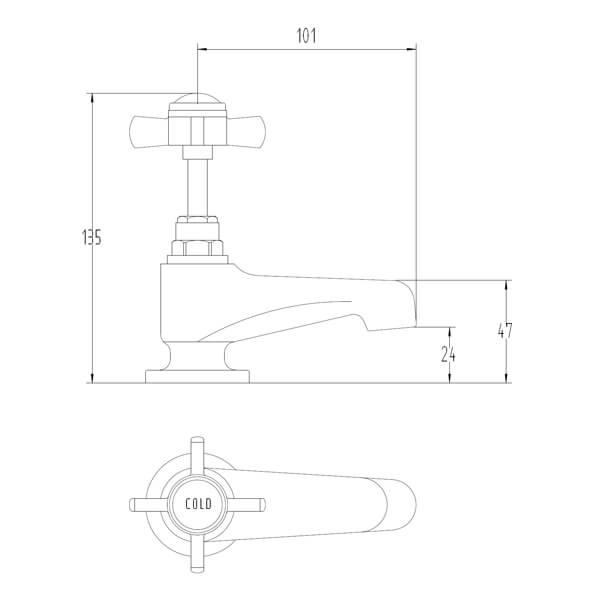 Technical drawing B3-28100 / BIQVI04
