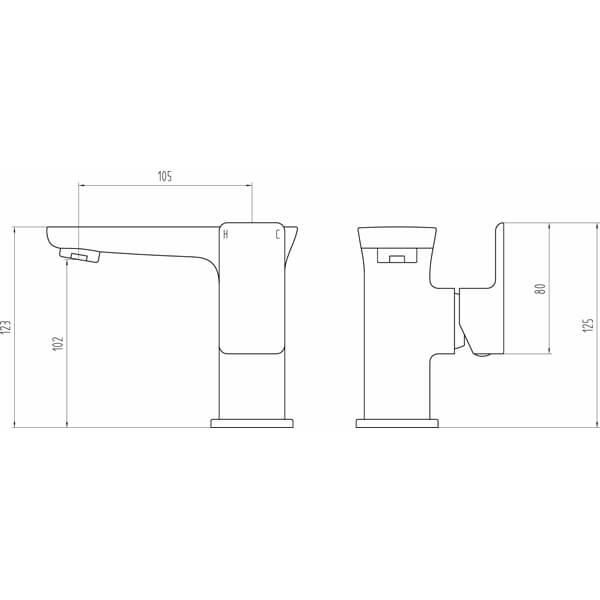 Technical drawing B3-28076 / BIQF6003